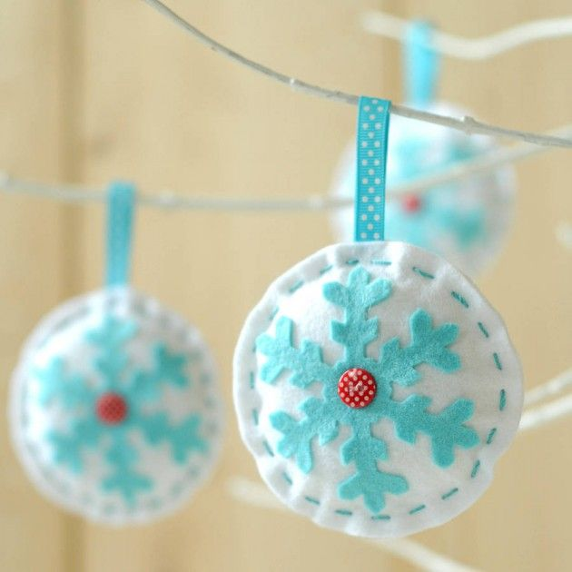 33 Lovely DIY Christmas Tree Ornaments | Daily source for inspiration and fresh ideas on Architecture, Art and Design
