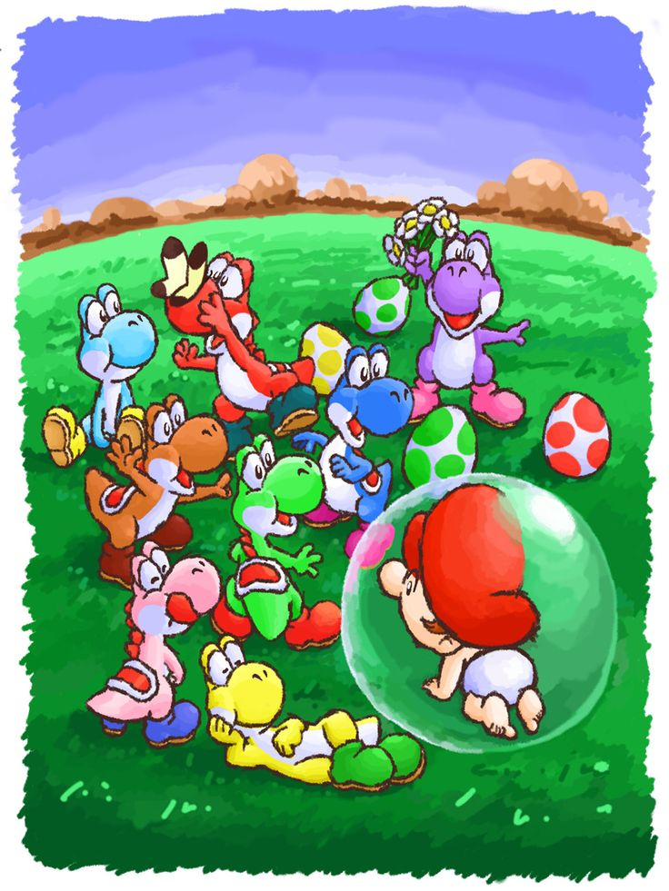 Yoshi's Island loved this game