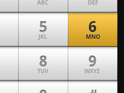Dial pad for Android app