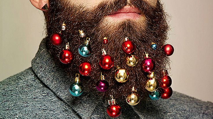 Holiday Beard Baubles...  Like 'Em or Hate 'Em? #Hipster #Christmas