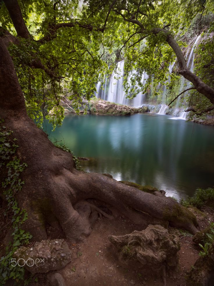the Kursunlu waterfall of Antalya.