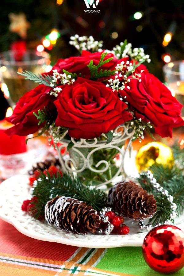 Rosen eignen sich zu jeder Jahreszeit als Dekoration
