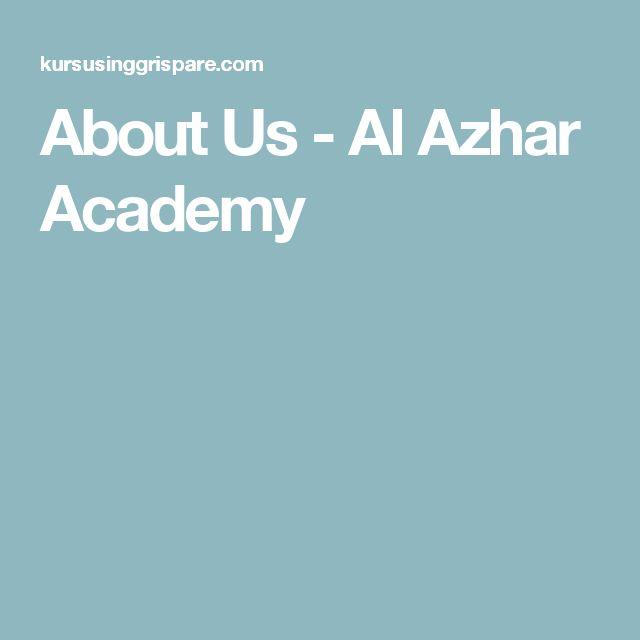 About Us - Al Azhar Academy