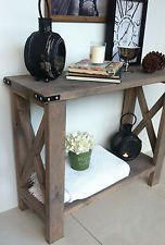 NEW 1m Beach House/Rustic/French Style Console/Hall/Entrance Table/Sideboard