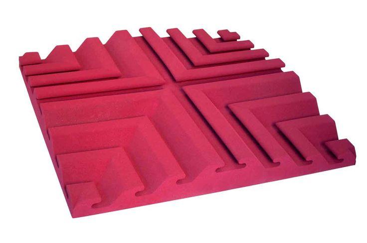Pannello fonoassorbente Square #pannelli #fonoassorbenti #magiacustica Soundproof panel - Model Square #soundproof #panels