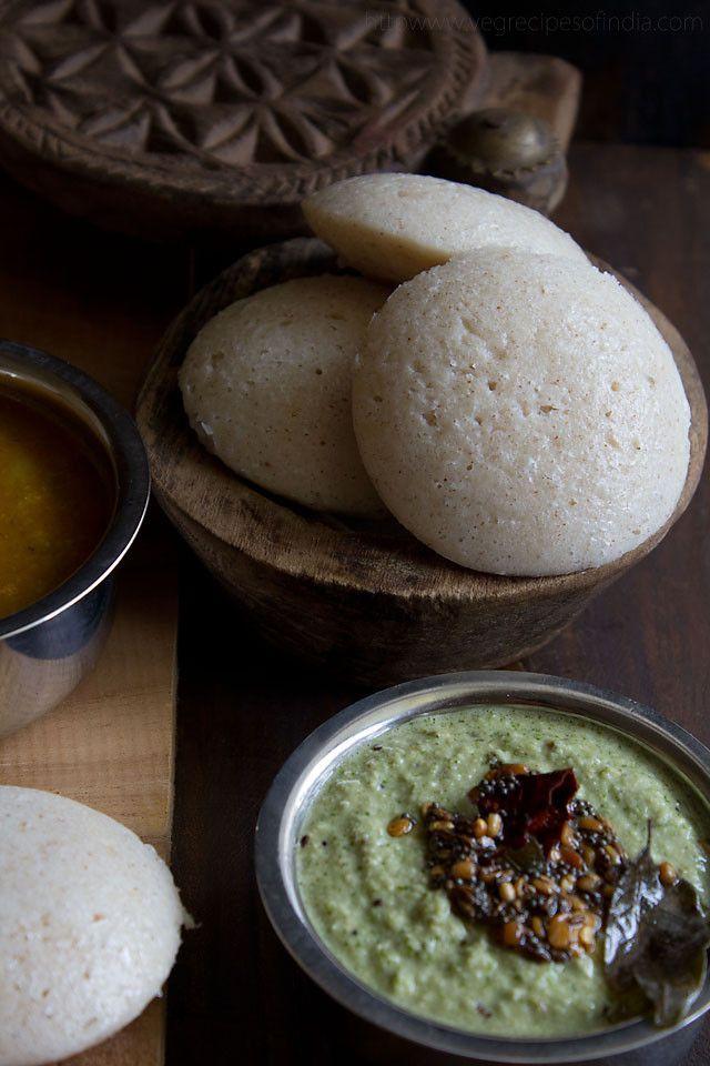 idli recipe – how to make soft idlis