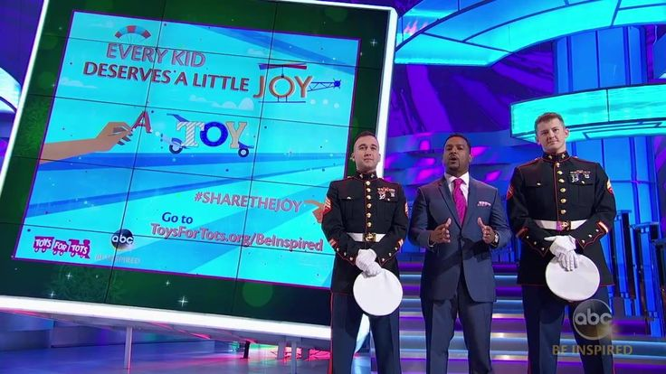 Learn more about how you can #ShareTheJoy this holiday season by donating a new, unwrapped toy to Marine Toys for Tots Foundation and be sure to tune in AFV's new holiday episode tomorrow at 7/6c on ABC. For more info go to ABC.com/BeInspired.