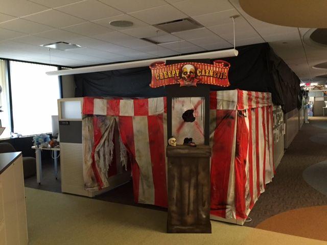 Little Gray Fox Halloween at the Office CSI Halloween! Pinterest - halloween office decorating ideas
