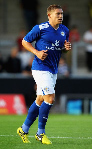 Martyn Waghorn, English footballer who plays for Milwall on loan from Leicester City. He's 23 and is a striker.