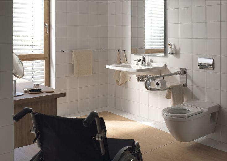 Duravit - Bathroom design series: Starck 3 - washbasins, toilets, bidets and urinals from Duravit.
