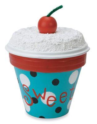 Terra Cotta Pot Cupcake