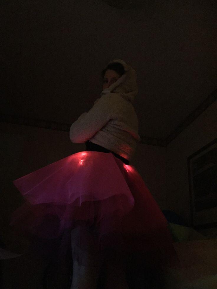 tulle LED light skirt