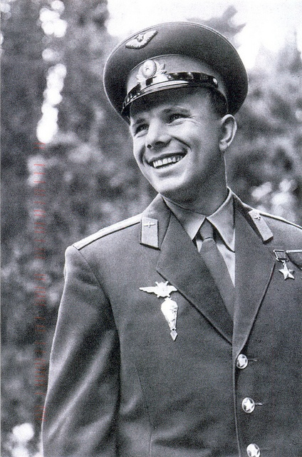 yuri alekseyevich gagarin a soviet cosmonaut Russian astronaut yuri gagarin, taken during his visit to admiralty house  the  son of a carpenter, yuri alekseyevich gagarin was born in the.