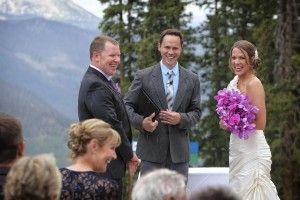 Mountain Ceremony. Weddings at Copper Mountain Resort, Copper Mountain, Colorado.