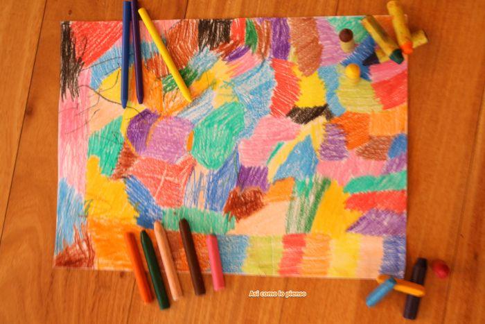 El abecedario en imágenes, fotografia que ilustra palabras: C de colores