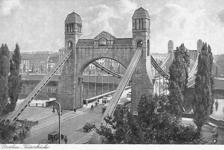 Most Grunwaldzki. 1938.