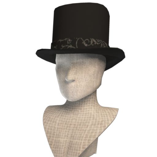 Cezar Calavera Top Hat