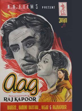Aag (1948) Hindi Movie Online in HD - Einthusan Raj Kapoor, Nargis, Premnath Directed by Raj Kapoor Music by Ram Ganguli 1948 [U] ENGLISH SUBTITLE