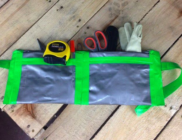 duct tape tool bag lmao but great for kids