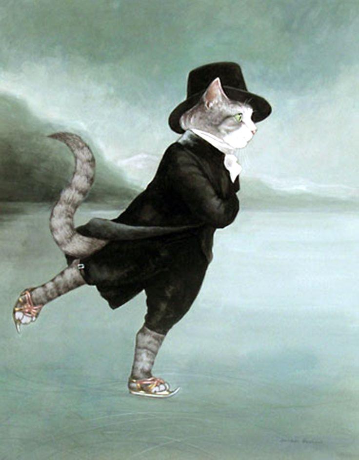 """""""Reverend Robert Walker Skating on Duddingston Loch (Henry Raeburn)"""" par Susan Herbert"""
