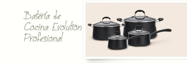 Ilko bater a de cocina evolution profesional www for Bateria cocina profesional