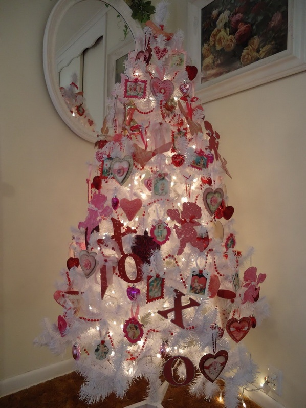 Valentine Christmas Tree Decorations Holliday Decorations