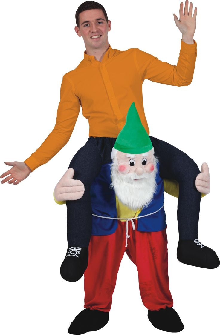 Adult 'Carry Me' Gnome Costume