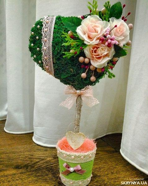 Валентинки из различных материалов