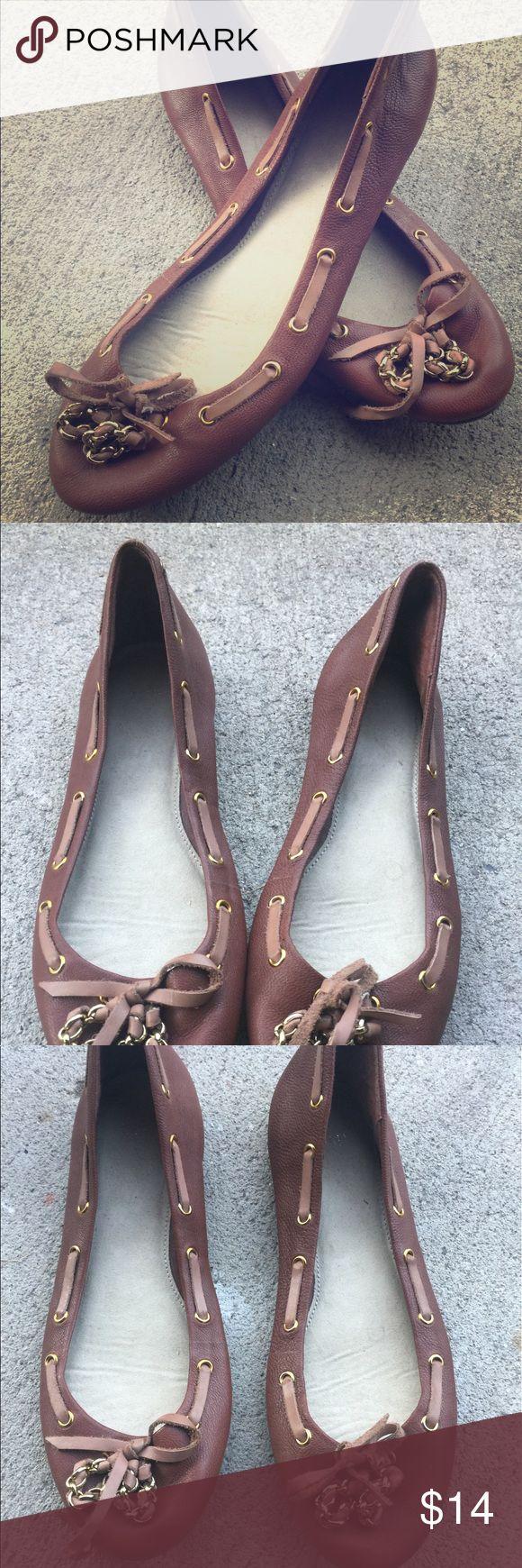 Gap ballet flats Gap leather ballet flats size 7 GAP Shoes Flats & Loafers