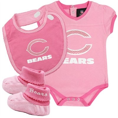 da bears on Pinterest | Chicago Bears, Bibs and Creepers