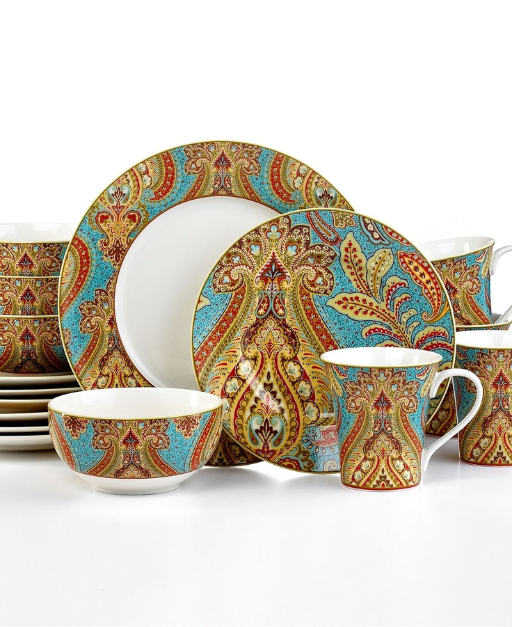 222 fifth dinnerware demure turquoise 16 piece set for 222 fifth dinnerware