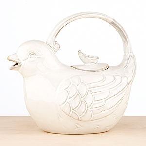 Bird Tea Pot - also has matching sugar and creamer set!: Tea Kettle, Tea Pot, Worldmarket Entertaining, Teapot Worldmarket, Hot Tea, Teatime