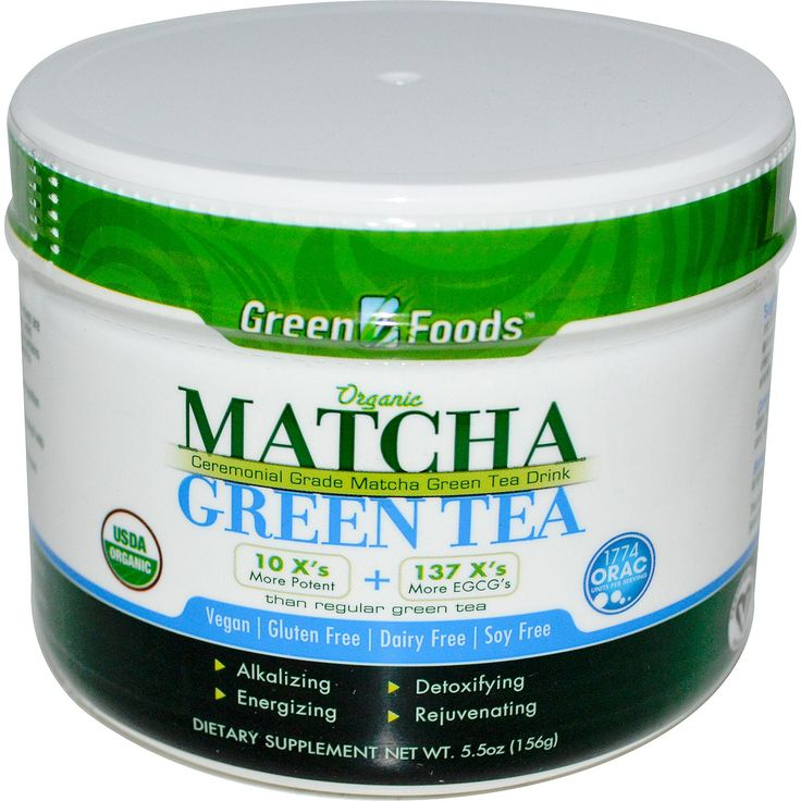 Green Foods Corporation, Organic Matcha Green Tea, 5.5 oz (156 g) - iHerb.com