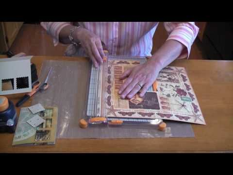 ▶ Fiskars Everywhere Window Punch Card Tutorial - YouTube
