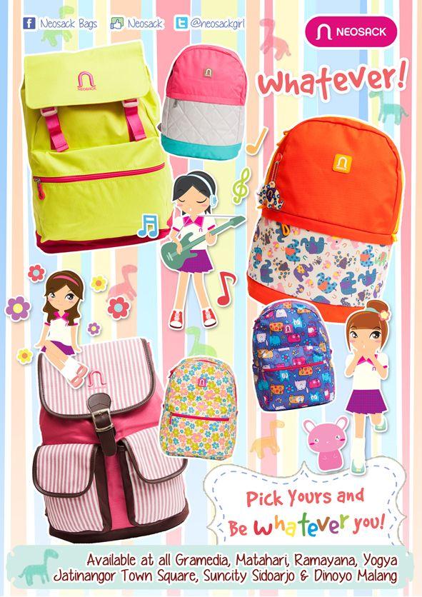 Girls Backpack by Neosack