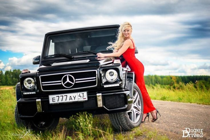Un model rus și un G63 AMG: Frumoasa îmblânzește Bestia! - MercedesBlog.ro