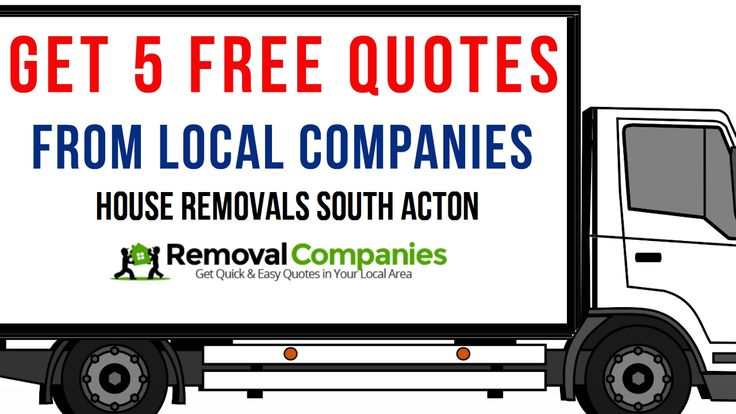 House Removals South Acton - Get Your Free Removal Quote