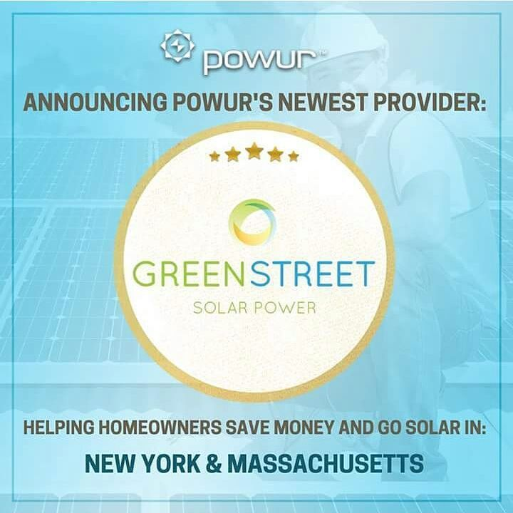 Disrupting the the NE! We are excited to announce a new partnership with NY-based Green Street Solar now live on the Powur Platform. Co-founder and President Jason Kuflik has pulled together a dedicated Powur team led by Shruti Nayar and Angela Ramirez and they are ready to disrupt the world with Powur.