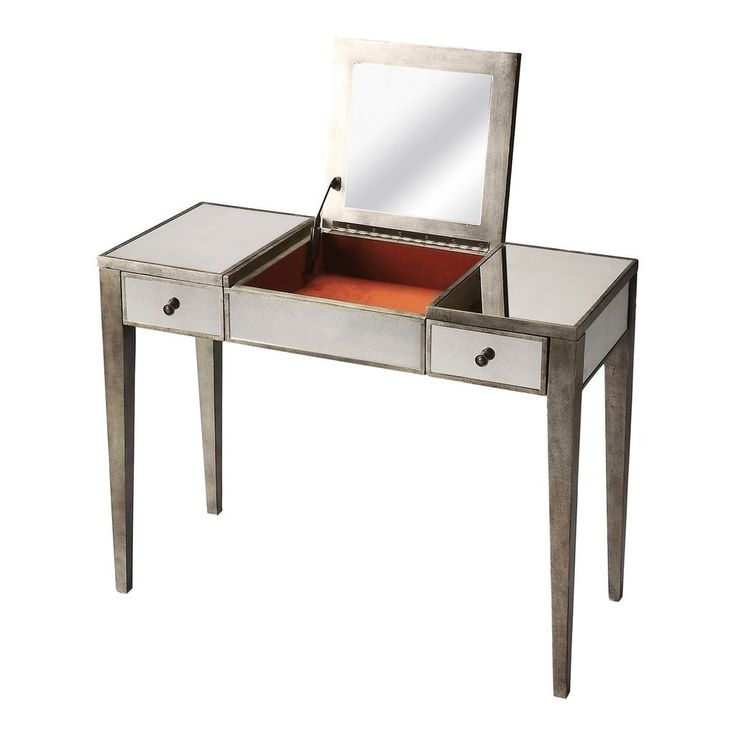 Butler Mirror Baines Vanity Table With Mirror 3507146