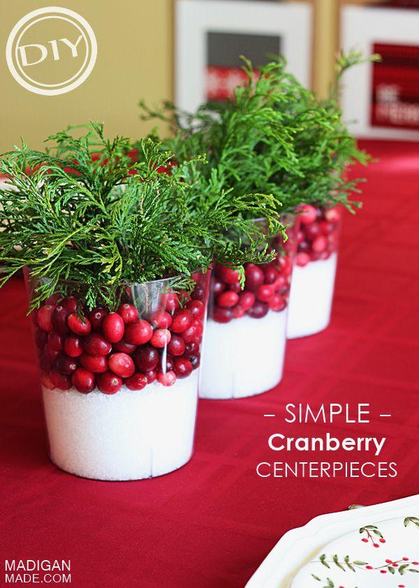 Best ideas about cranberry centerpiece on pinterest