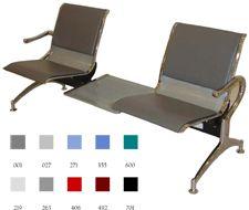 Sillas Modulares: Soluciones simples para salas de espera  La colección de sillas modulares es una solución simple para las áreas de espera. Su construcción en acero laminado y su robusta estructura, brindan una excelente resistencia y durabilidad. Disponible en diferentes configuraciones para adaptarse a su espacio. Cojín se vende por separado.