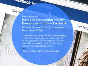Don't Be Over Promotional In Your Posts