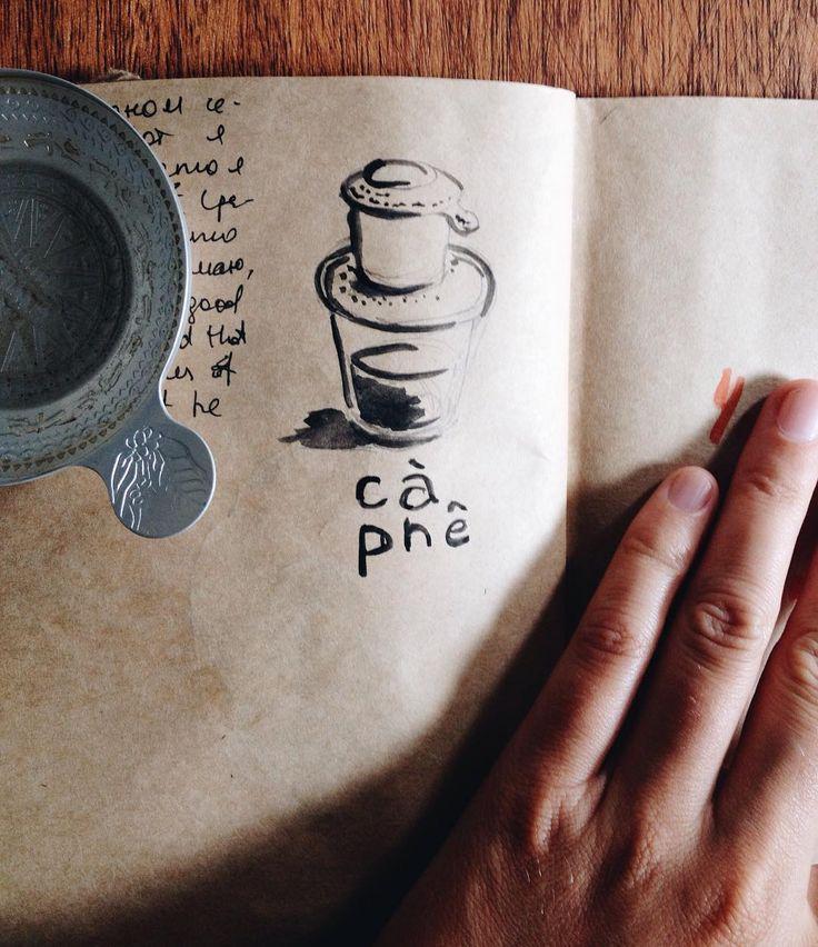 vietnamese coffee #drawing #cafe #coffee