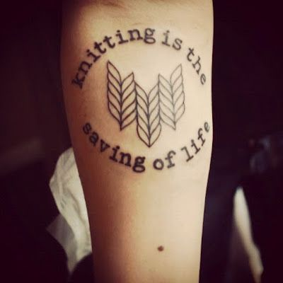 Quote from Virginia Woolf. 50 Incredible Tattoos Inspired By Books