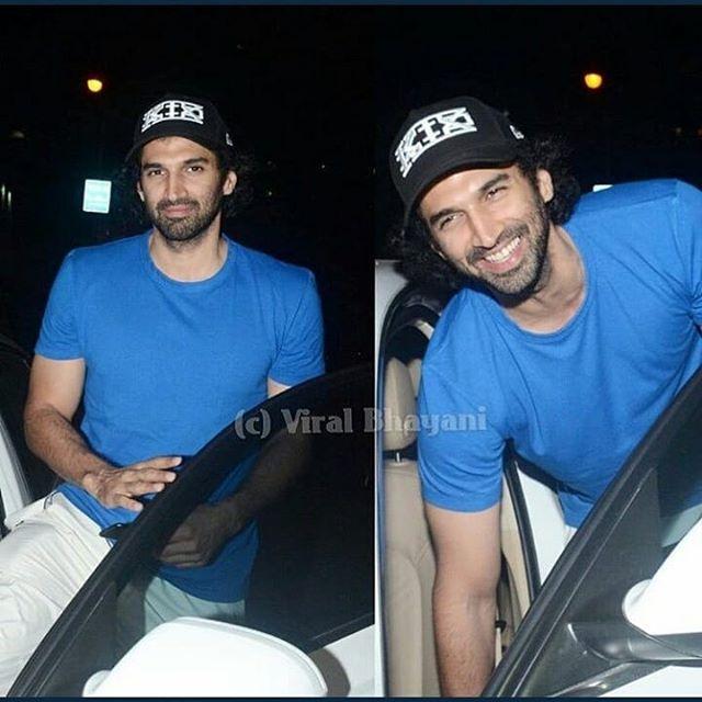 Adi spotted at PVC Cinemas Juhu watching Padman