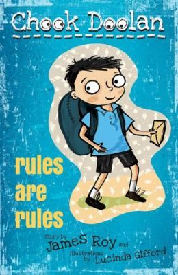 Walking to school is too scary for Chook - until Dad tells him the special rule for walking to school safely: no talking to anyone until you are inside the school gates.