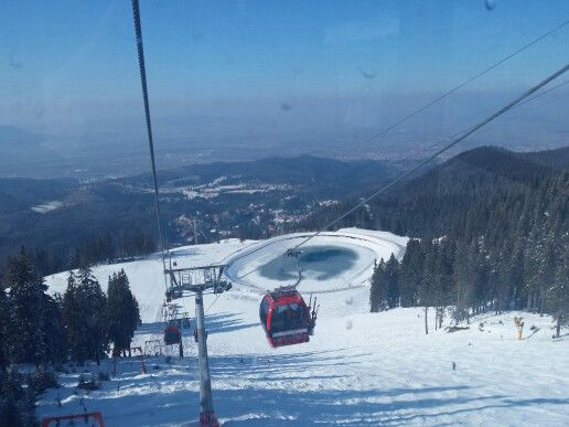 Poiana Brasov skiing resort. Beautiful