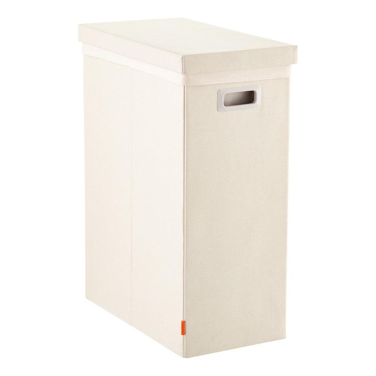 Linen Poppin Laundry Hamper with Lid | The Container Store