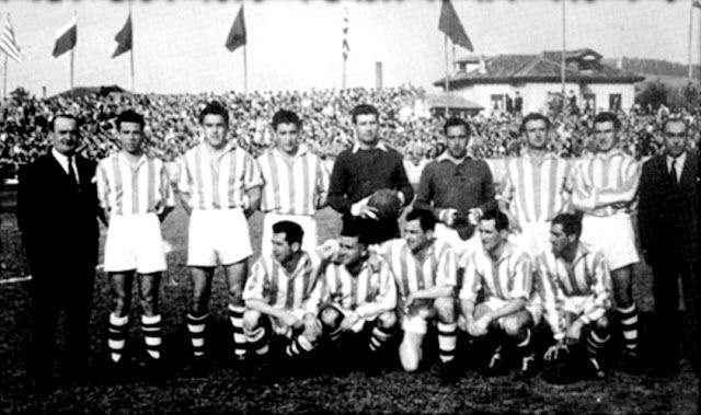 GIMNÁSTICA DE TORRELAVEGA en la temporada 1949-50