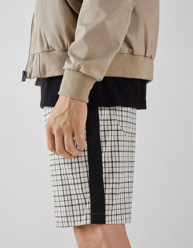 Pantalones Cortos De Hombre Otoño Invierno 2018 Bershka Pantalones Cortos Bershka Pantalones